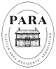 Playter Area Residents' Association Logo